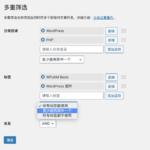 WPJAM「分类管理插件」新增多重筛选功能